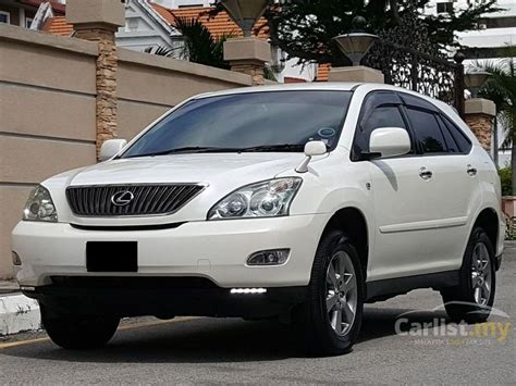 harrier lexus 2007 toyota harrier 2007 240g 2 4 in penang automatic suv white