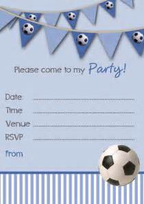 Free Birthday Invitation Templates Uk by Free Printable Football Invitation Templates