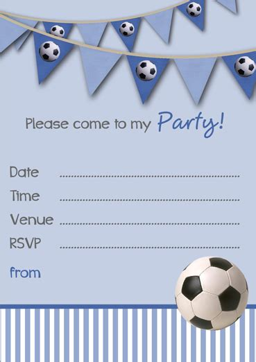 printable invitations uk free printable football party invitation templates