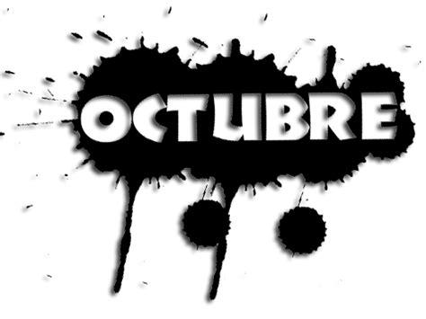 imagenes mes octubre halloween octubre con mancha de tinta imagenes y carteles