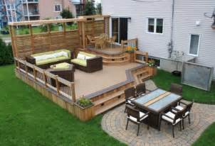 deck designs mobile home deck designs back front ideas