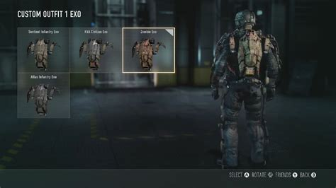 exo zombies characters call of duty advanced warfare zombie exo suit