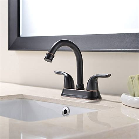 Bronze Faucet Stainless Sink by Ufaucet Rubbed Bronze Stainless Steel Bathroom