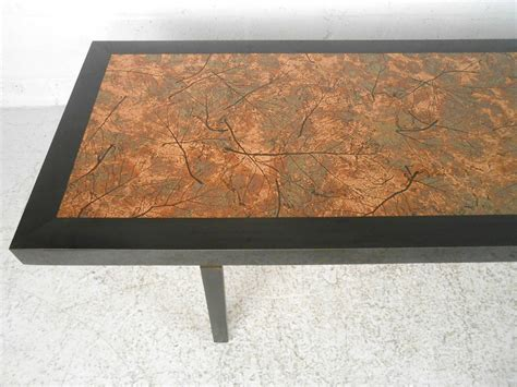 copper top tables for sale beautiful mid century modern hammered copper top coffee