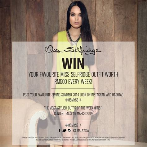 images about winagain tag on instagram miss selfridge instagram contest contests events malaysia