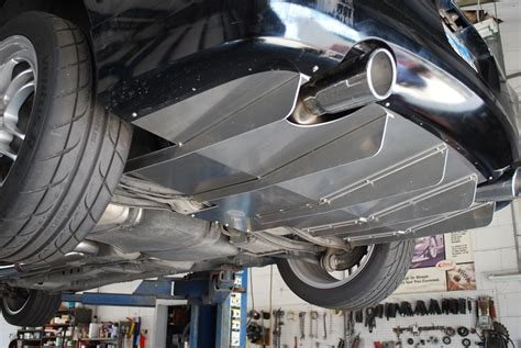 Bumper Universal Limited Stok mpx aluminum rear diffuser limited production run 03 05
