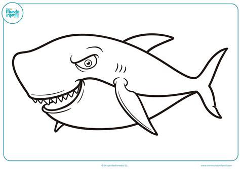 imagenes para colorear tiburon dibujos para colorear de tiburones saltos de tiburn