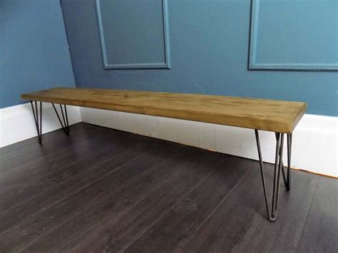 industrial style bench hairpin benches hairpin legs industrial style hair pin