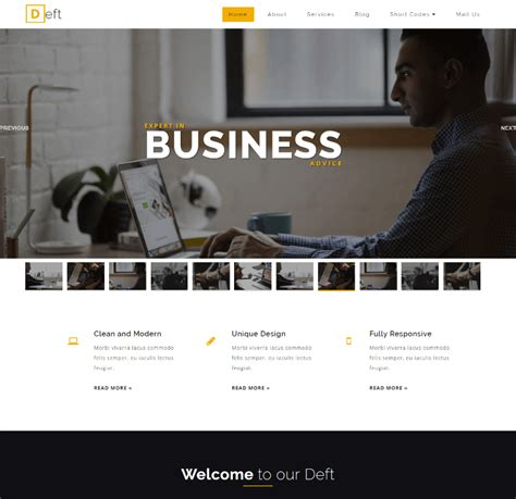 best free website templates for business 30 best free business website templates 2018 themelibs