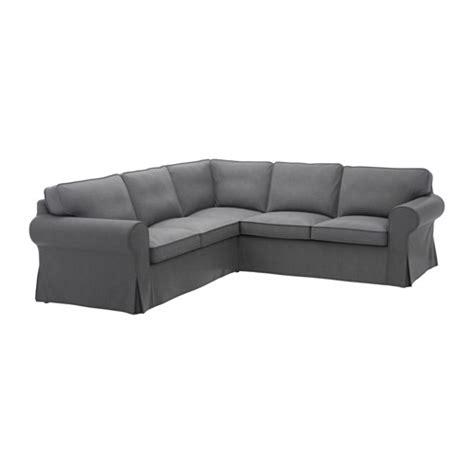 divano ektorp ektorp sof 225 esquina 2 2 nordvalla gris oscuro ikea