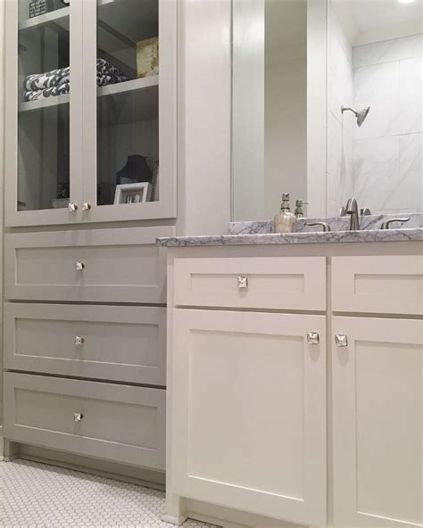 two tone bathroom cabinets beautiful homes of instagram home bunch interior design