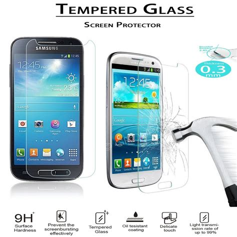 Temperred Glass Norton Samsung S4 Mini gt i9190 i9192 i9195 s4 mini glass 9h edge high definition screen protector tempered
