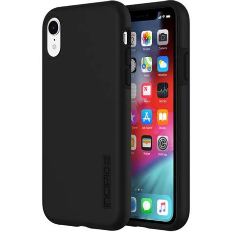 incipio dualpro case  iphone xr black iph  blk bh