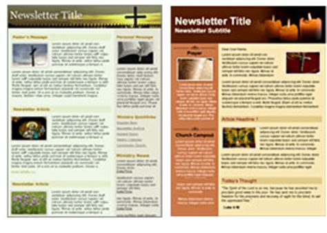 Email Marketing For Non Profits And Religious Organizations Free Charity Newsletter Template