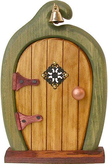printable elf door topknot tree house fairy door