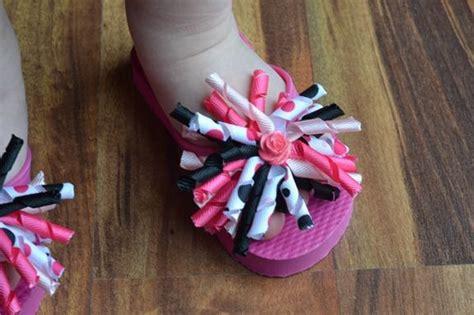 Flip Flop Decorating Ideas by Decorated Flip Flops