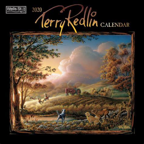 wells st  lang wall calendar size    opened redlin art center