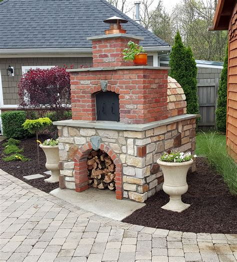 build  pizza oven   build  wood fired