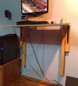 cheap diy adjustable standing desk per merda ad astra
