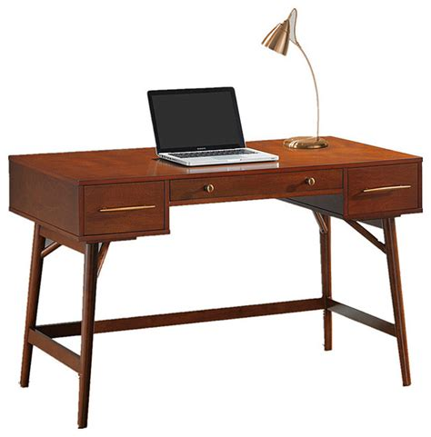 walnut home office desk home office laptop desk walnut white writing desk with 3