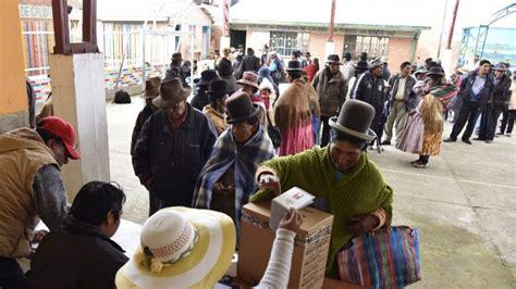 referendum en bolivia 2016 comienzan a cerrar mesas de votaci 243 n en referendo