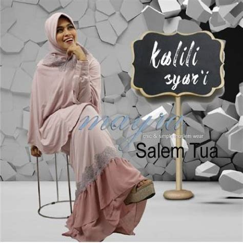 Syari Kerang Salem Grosir Baju Muslim Busana Muslim Baju Murah kalili syar i salem tua baju muslim gamis modern