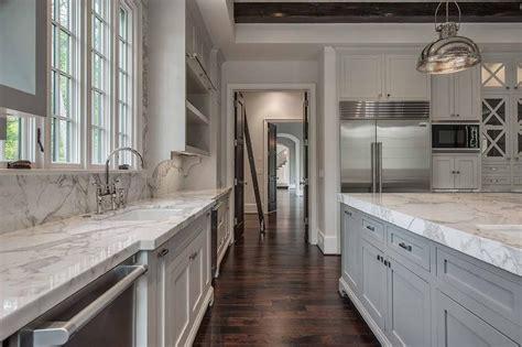 Kitchen Island With Sink by Kitchen Sink Between Dishwashers Transitional Kitchen