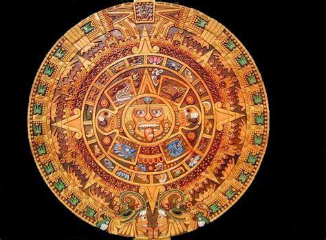 Calendario Azteca For Sale Aztec Calendar Painting By Eduardo Paz