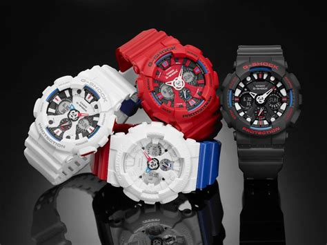 Casio G Shock Lov 16a 7adr g shock tri colour series ga 120tr
