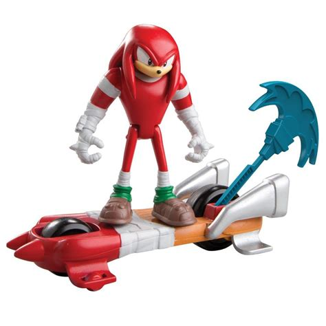 figure features sonic boom feature figure knuckles series boxed pvc