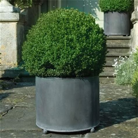 Large Metal Garden Planters by Garden Requisites Steel Planters Troughs
