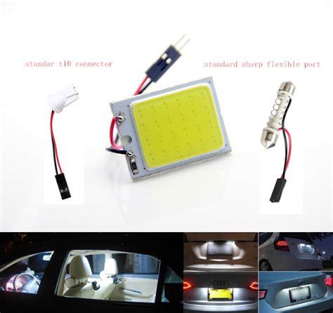 Lu Led Plafon Putih Mobil jual lu plafon kabin mobil bohlam led plasma 24 cob 3x4
