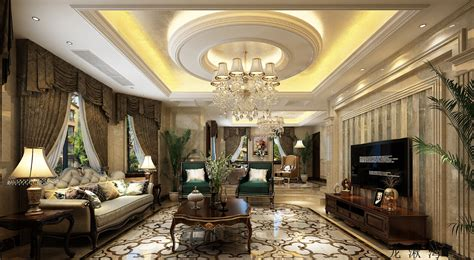 Small European House Plans elegant luxury european style living room design2
