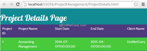 project details working with angularjs controllers project tracking