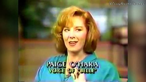 paige o hara interview alan menken and paige o hara on howard ashman 1991