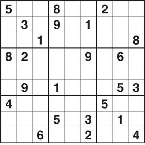 Sudoku 1 214 Hard Life And Style The Guardian