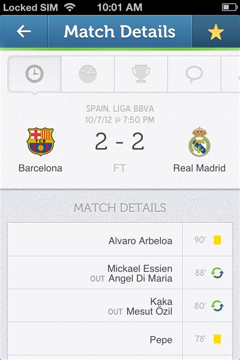 sofa score live score live scores sofa score sports news free app for iphone