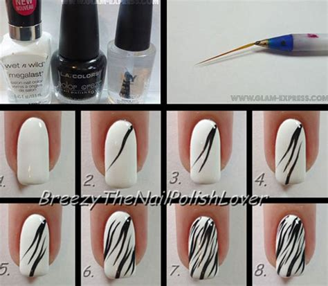 nail art design tutorial painting 10 easy acrylic nail art tutorials for beginners