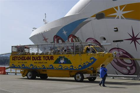 duck boat tour route cruiseportinsider ketchikan excursions quot duck quot a
