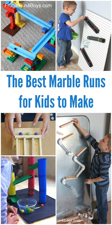 the various recommendations and ideas of the materials of fun stem challenges for kids the best marble runs to build