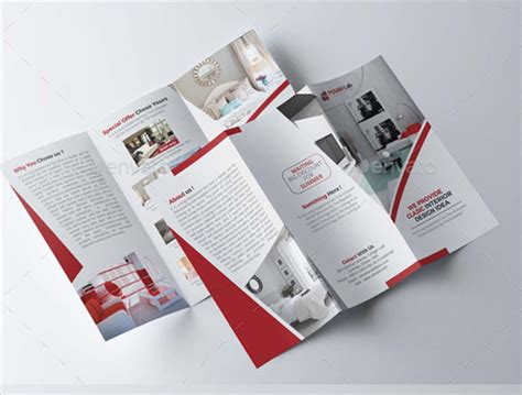 Interior Brochure Design by 21 Interior Exterior Brochure Templates Themes