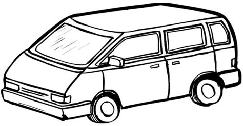 printable images of van free coloring pages of and caravan