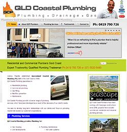 Coastal Plumbing by Web Portfolio Of Websites I Designed And