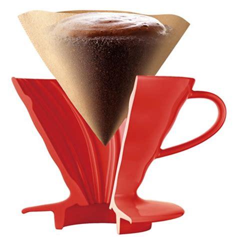 Tiamo Dripper V60 Ceramic Brown 01 Gelas Pour Keramik Hg5533br hario coffee dripper caffeinated cup