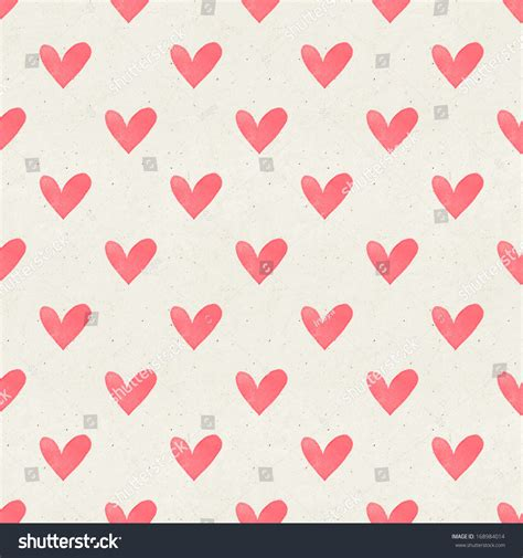 texture heart pattern seamless watercolor heart pattern on paper stock