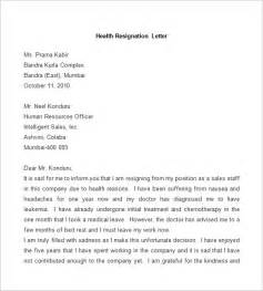 Resignation Letter Health Resignation Letter Template 25 Free Word Pdf Documents Free Premium Templates