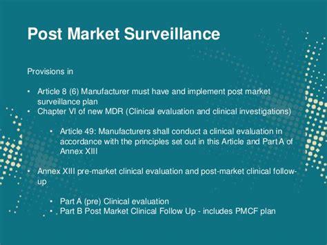 Post Market Surveillance Report Template Economic Operators And Post Market Surveillance The