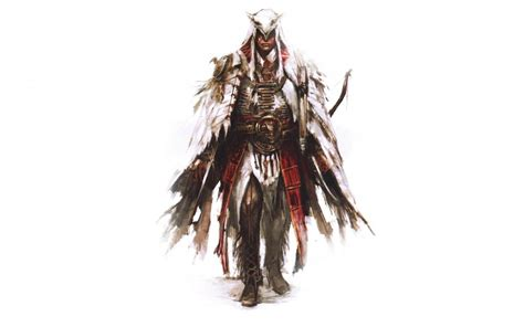 assassins creed drawing white warrior wallpaper