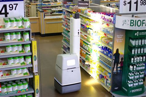 Does Walmart Carry On A Shelf by Walmart Is Using Shelf Scanning Robots To Audit Its Stores