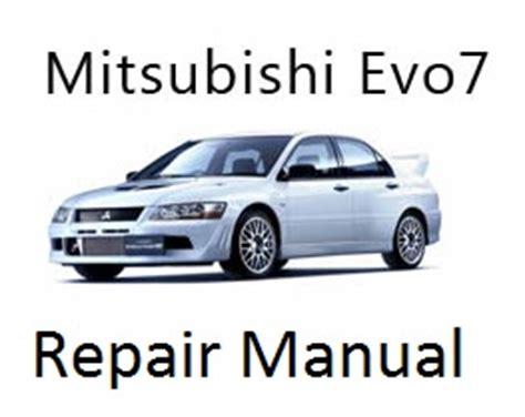 Mitsubishi Lancer Evolution 7 Vii Repair Manual